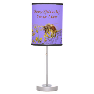 Bees Spice Up Your Life Lamp