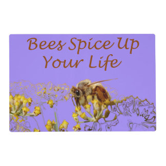 Bees Spice Up Your Life Place Mat