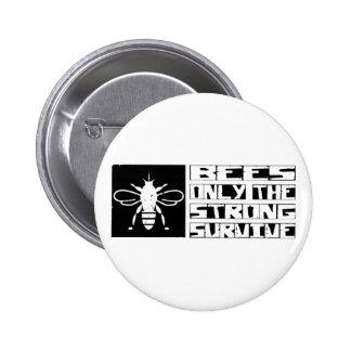 Bees Survive Pinback Button