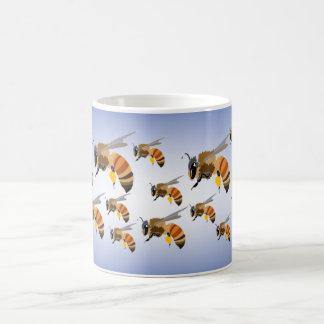 Bees Swarming Coffee Mug