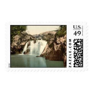 Beesley Falls, Ingleton, Yorkshire, England Postage Stamps
