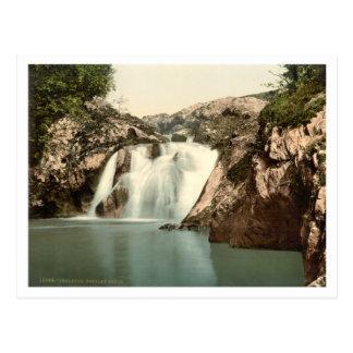 Beesley Falls, Ingleton, Yorkshire, England Postcard