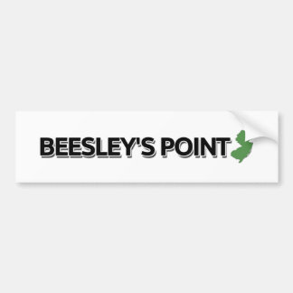 Beesley's Point, New Jersey Bumper Sticker