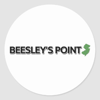 Beesley's Point, New Jersey Classic Round Sticker
