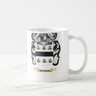 Beeson Coat of Arms (Family Crest) Coffee Mug