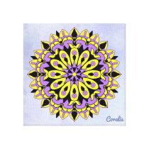 BeeSun Mandala Canvas Print