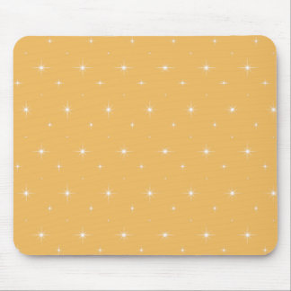 Beeswax  And Shining Stars Elegant Pattern Mousepads