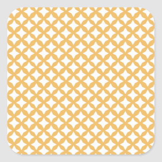 Beeswax Color And White Seamless Mesh Pattern Stickers