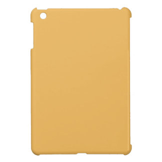 Beeswax Orange Yellow  Elegant Fashion Color Cover For The iPad Mini