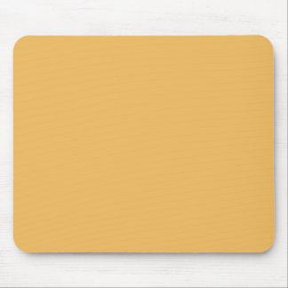 Beeswax Orange Yellow  Elegant Fashion Color Mouse Pad
