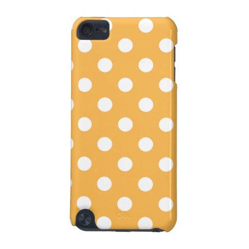 Beeswax Yellow Polka Dot Ipod Case