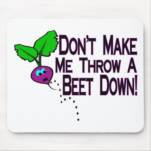 Beet Down Mouse Pad