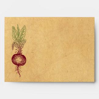 Beet Envelopes