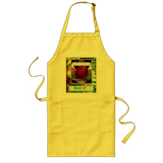 Beet it! long apron