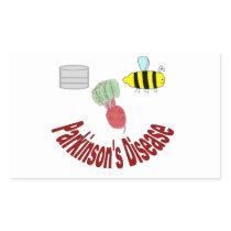 Beet PD Rectangle Sticker