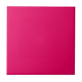 Beet Root Purple Pink Personalized Hot Magenta Tile