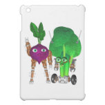 BeetBot and BroccoliBot Cover For The iPad Mini
