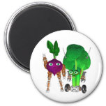 BeetBot and BroccoliBot Magnet