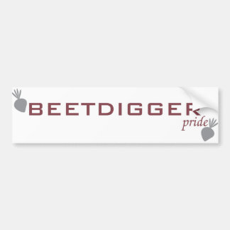 BEETDIGGER pride Bumper Sticker