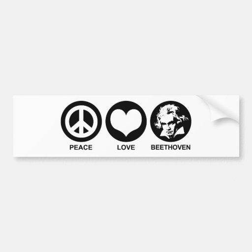 Beethoven Bumper Sticker