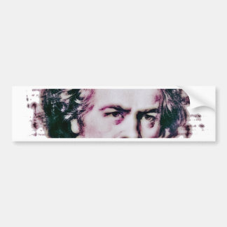 Beethoven Car Bumper Sticker