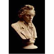 Beethoven bust statue
