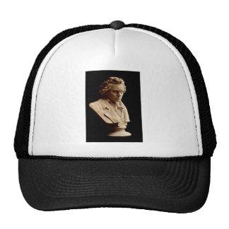 Beethoven bust statue trucker hat