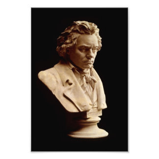 Beethoven bust statue art photo