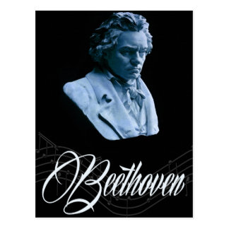 Beethoven by Moonlight Postcard