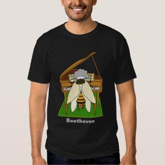 Beethoven - camiseta (oscura) camisas