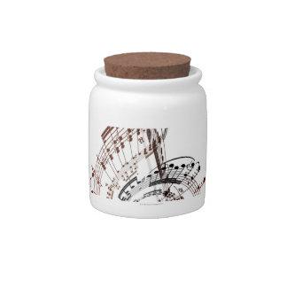 Beethoven Candy Jar