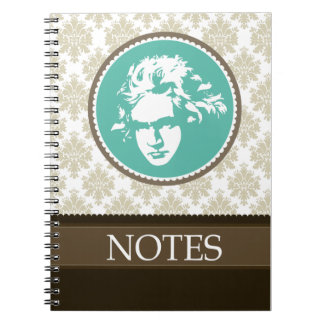 Beethoven Classical Music Practice Notebook