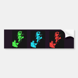 Beethoven Collage Bumper Sticker