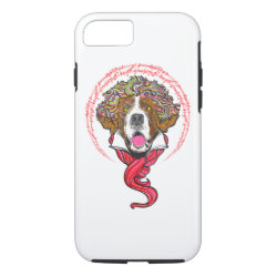 Case-Mate Barely There iPhone 7 Case with Saint Bernard Phone Cases design