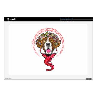 """Beethoven Dog Skins For 17"""" Laptops"""