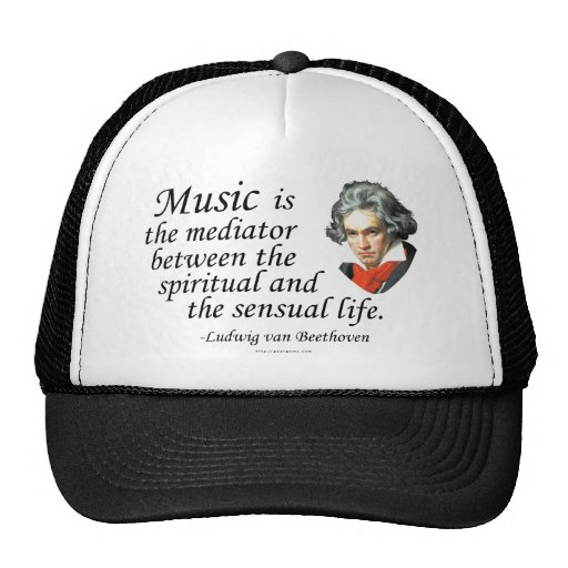 Beethoven en música gorros