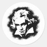 Beethoven Etiqueta Redonda