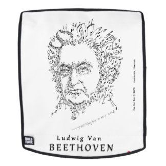 Beethoven Face the Music Backpack
