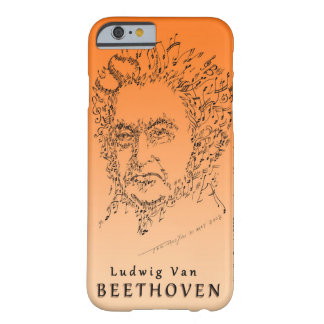 Beethoven Face the Music Barely There iPhone 6 Case