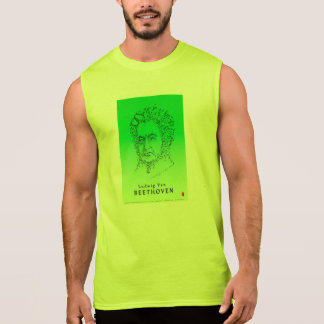 Beethoven Face the Music Sleeveless Shirt