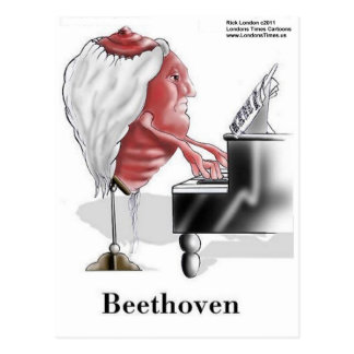 Beethoven Funny Gifts Tees Mugs Cards Etc Postcard