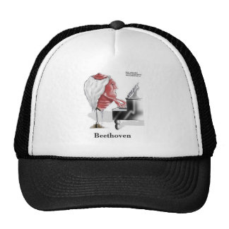 Beethoven Funny Gifts Tees Mugs Cards Etc Trucker Hat