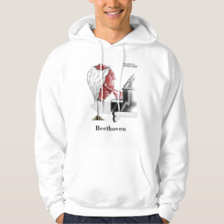 BEEThoven Funny Hoodie by Rick London