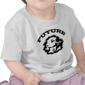 Beethoven futuro camisetas