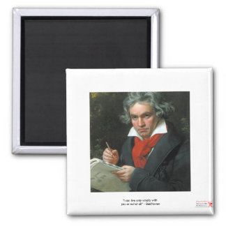 Beethoven Gifts Tees Collectibles ON SALE 2 Inch Square Magnet