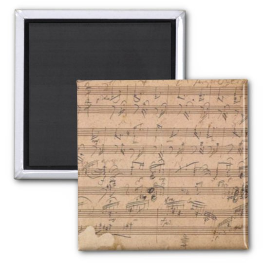 Beethoven Hammerklavier Sonata Magnet