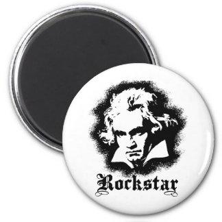 Beethoven Imán Redondo 5 Cm