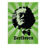 Beethoven in Green Print