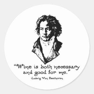 Beethoven - L Etiquetas Redondas