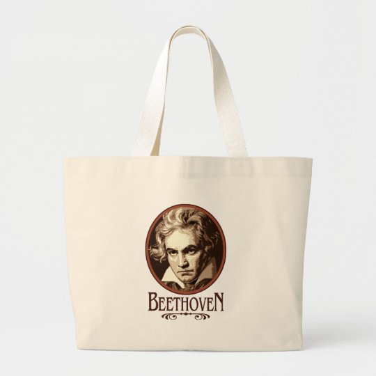 Beethoven Large Tote Bag